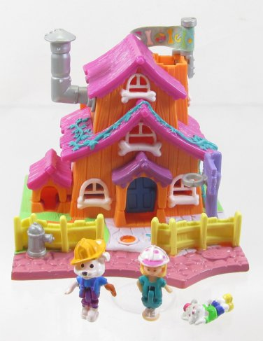 1994 Vintage Polly Pocket Dog House  Bluebird Toys (39574)