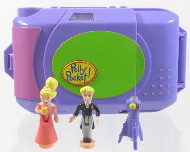 1998 Vintage Polly Pocket Camera Fun Bluebird Toys (34030)