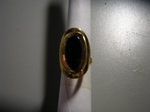 Ladies Black Onyx Ring