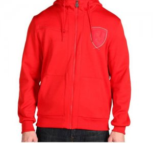 Puma Ferrari Softshell Jacket W/ Hood MSRP $110 Medium