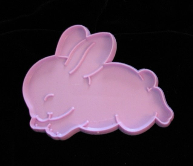 Hallmark Easter Bunny Rabbit Pink Cookie Cutter