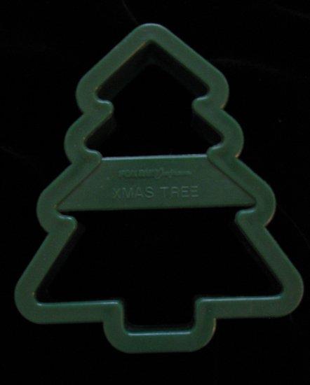 Fox Run Craftsmen Plastic Christmas Tree Cookie Cutter Foxrun Cutters