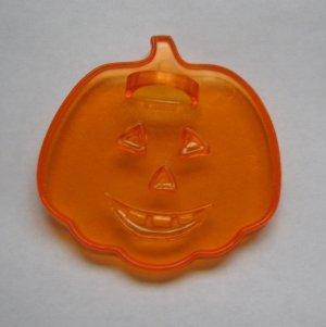 Halloween Clear Plastic Pumpkin Jack-O-Lantern Amscan Cookie Cutter