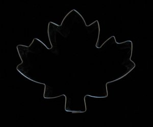 Metal Maple Leaf Cookie Cutter Shaper