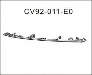 Chev GMC Pickup Front Bumper Filer 1994-1998