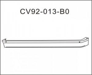 Chev Full size GMC Pickup Deflector LWR 1988-1998