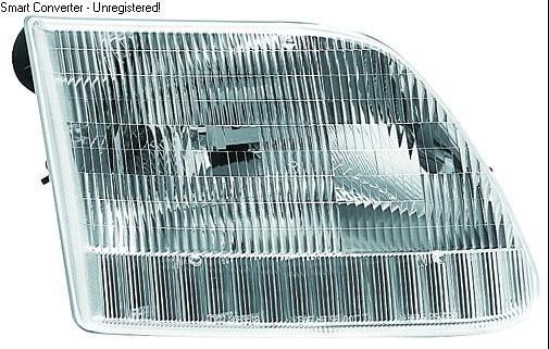Ford Pickup Full  size Lamp Head Light RH 1997-2003