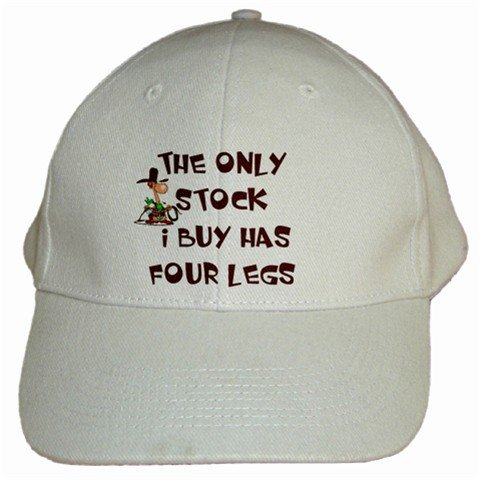 The Only Stock I Buy Has Four Legs Cap