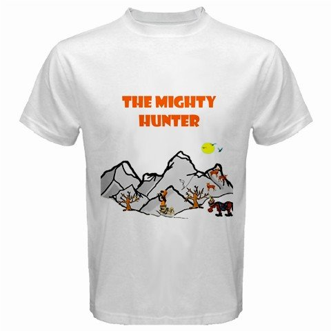The Mighty Hunter 3 White T-Shirt