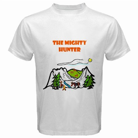 The Mighty Hunter 2 White T-Shirt