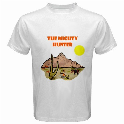 The Mighty Hunter 1 White T-Shirt