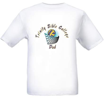 Trinity Volleyball Dad T-Shirt