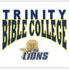 "Trinity Bible College Lions - Postcards 5.47"" x 4.21"""