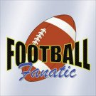 Football Fanatic Car Window Decal