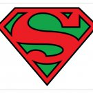 SALE - Superman Mousepad with green background crest