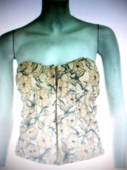 Womens Jr/Miss sexy club wear bustier top NWT SM-LG