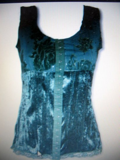 Womens JR/Miss sexy club wear sleevless top NWT S-L