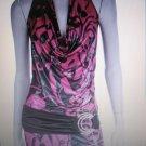 Womens Jr/Miss sexy clubwear mini halter dress NWT S-L