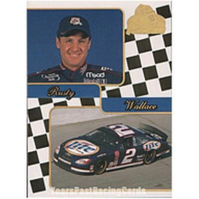 Rusty Wallace 2001 Press Pass Premium Gold #29
