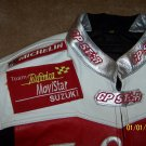 Suzuki Telefonica MoviStar GPSTAR Team leather jacket XL