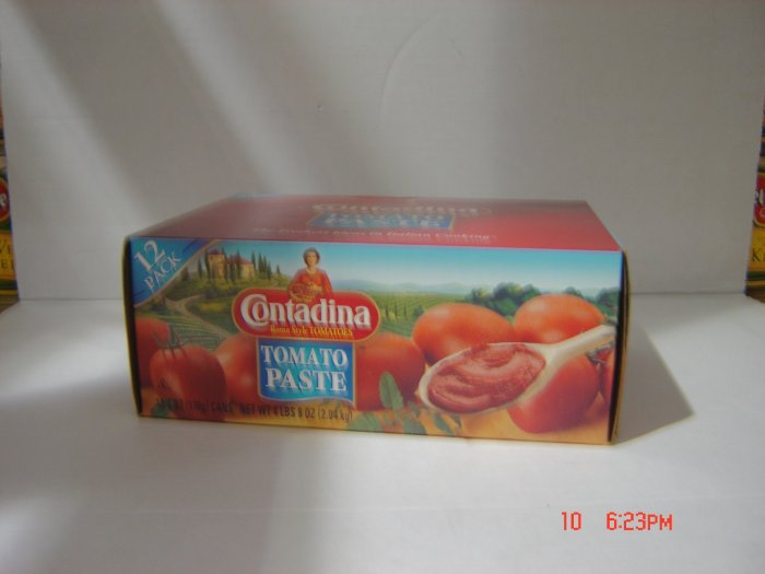 Tomato Paste  12 cans ( 0.375 lbs., 170 g. each ) pack