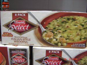 Soup  Italian Wedding  8 cans (1.16 lbs., 527 g. each) pack