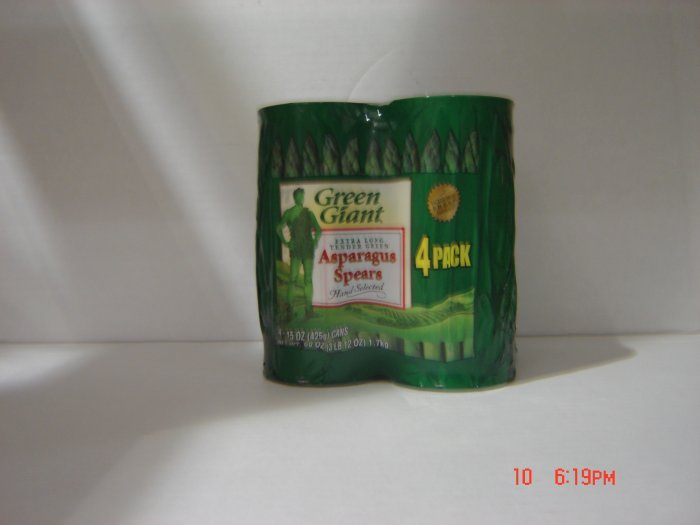 Asparagus Spears  4 cans (0.94 lbs., 425 g. each) pack