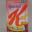 Cereal, Special K with Berries  2 Bag (1.16lbs., 525g. ea.) Box