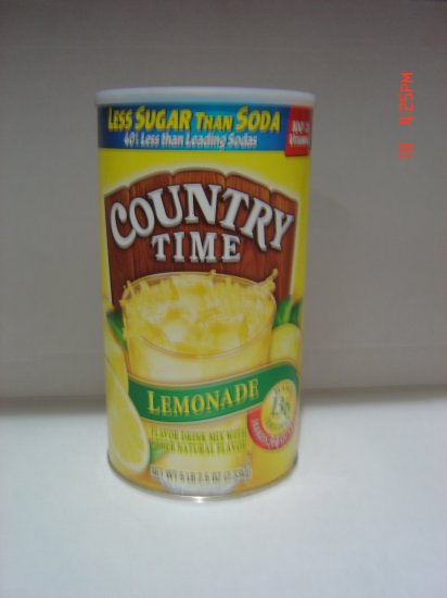 Drink Mix, Lemonade, Country Time (5.16lbs.,2330g.)