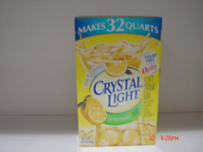 Drink Mix, Lemonade, Crystal Light Concentrate (0.54lbs.,245g.)