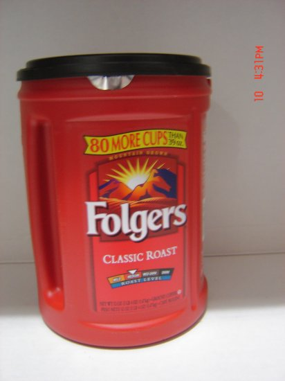 Coffee, Folgers Brand, Instant (1.0 lbs., 453 g.)