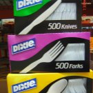 Forks, Plastic  500 Count Bag