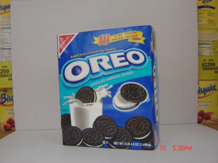 Cookies, Oreo, Choc-Vani, 10 Sleeve (0.33lbs.,149g. ea.) Box