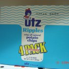 Potato Chips, Ripple Style, 4 Bag (0.75lbs.,340g. ea.) Pack