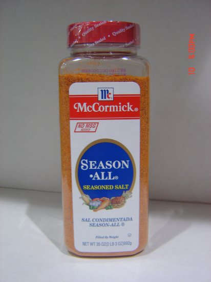 Seasoning, McCormick's Season All  2.2 lbs., 995 gram Bottle