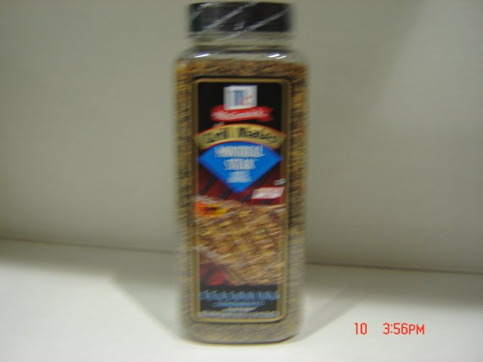 Seasoning, Montreal Streak  1.81 lbs.,822 g. Bottle