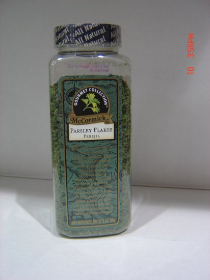 Parsley, Flakes  0.13lbs.,56 gram Bottle