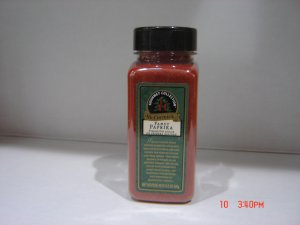 "Paprika, ""Fancy Gourmet""  0.53 lbs., 241 gram Bottle - Out of Stock"