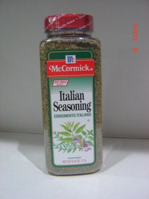 Italian Seasonings  0.39 lbs., 177 gram Bottle