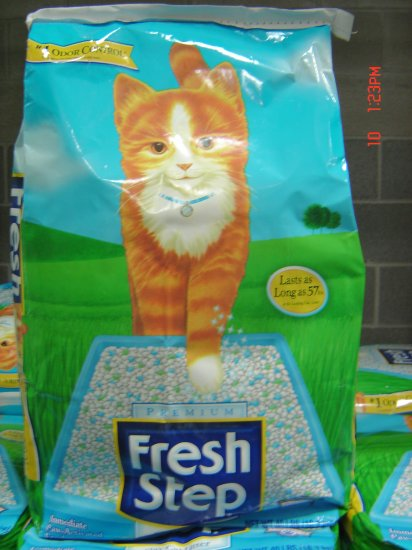 Cat Litter,  40 lbs., 18100 grams Package