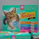 Cat Food, 48 Cans (0.34 lbs., 155 g. each) Variety Pack
