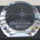 Swarovski Crystal CELEBRATE 2000 Millennium paperweight,limited edition