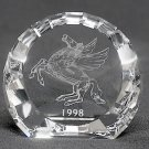 Swarovski Crystal PEGASUS PAPERWEIGHT, 1998 Event Exclusive