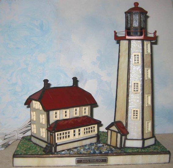 Forma Vitrum SANDY HOOK, Coastal Heritage Lighthouse, limited edition, retired
