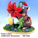 Charming Tails PEEK A BOO, 98/200, 1998 GCC Exclusive, MIB