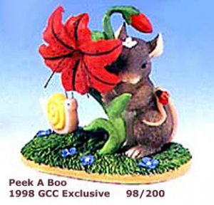 Charming Tails PEEK A BOO, 98/200, 1998 GCC Exclusive, MIB