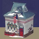 Department 56 North Pole BEARD BARBER SHOP,  56340,  retired in 1997,  MIB
