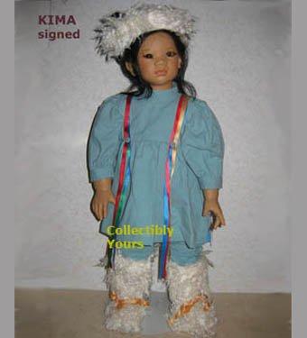 Annette Himstedt KIMA, Images of Childhood, HAND SIGNED, MIB