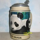Anheuser Busch GIANT PANDA STEIN,  Budweiser Endangered Species, CS173 NEW