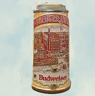 Anheuser Busch 1988 CLASSIC STEIN  CS93, Budweiser St. Louis MIB
